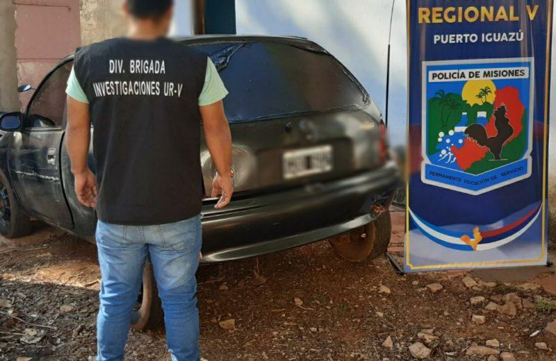 Incautaron dos vehículos adulterados uno de ellos fue robado en Buenos Aires