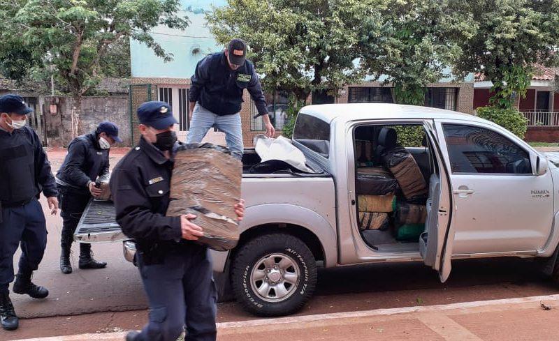 Loreto: Incautaron marihuana por valor superior a 50 millones de pesos