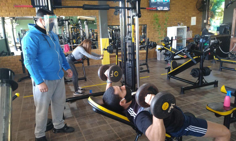 Abrió el primer gimnasio en Iguazú con un sistema de turnos y cupo limitado
