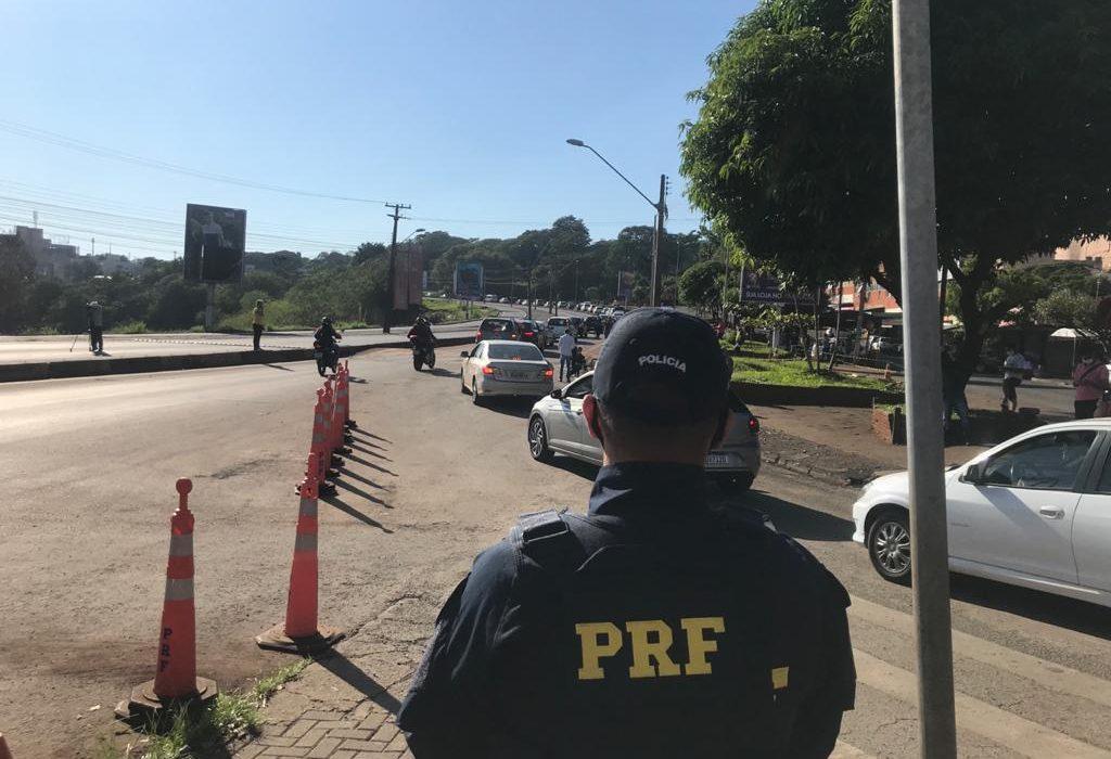 Brasileños exigieron la apertura de los puentes en las tres fronteras