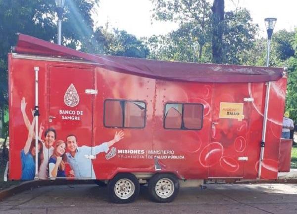 Completaron el cupo de donantes de sangre en Iguazú