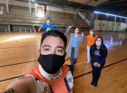 Iguazú, primer municipio en autorizar la práctica de básquet