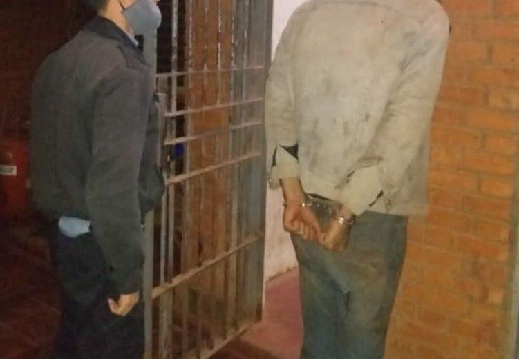 Joven con frondoso prontuario fue detenido nuevamente por intento de robo