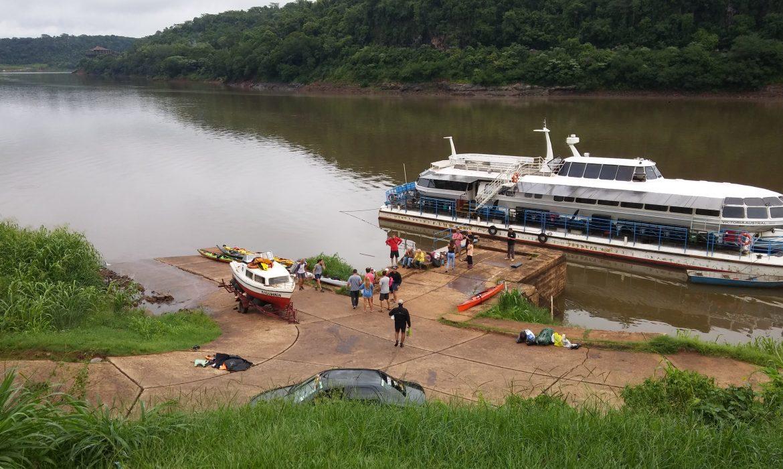 Iguazú habilitó la navegación en embarcaciones a motor
