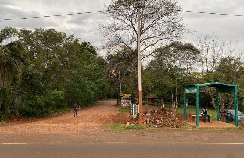 Iguazú: Trasladan el puesto de control a autovía de acceso y reabren los accesos bloqueados sobre la ruta N°12