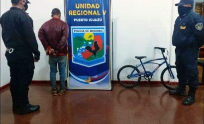 """""""Brasilia"""" fue detenido por el robo de una bicicleta"""