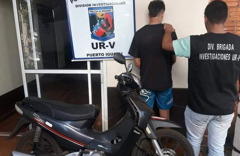 Detuvieron a cepillo por vender motos robadas