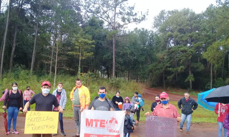El movimiento social por pedido de no a la syngenta se manifestó en Puerto Libertad