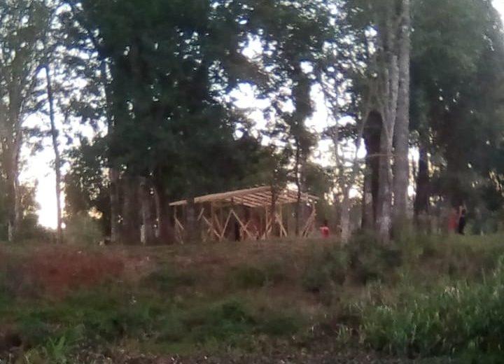 Nuevamente invadieron las tierras de la aldea Fortín Mborore