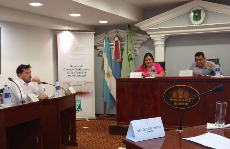 Ultiman los detalles para la primera sesión virtual del Concejo Deliberante de Iguazú