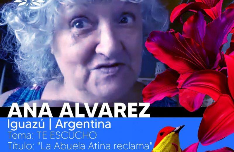 """""""La Abuela Atina reclama"""" de Iguazú fue la ganadora """"Vos y Voz"""" monologo Breve Social"""
