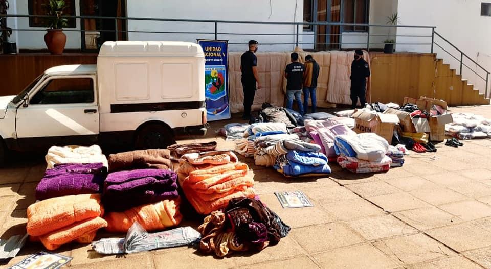 Transportaba mercaderías de contrabando, intentó huir pero fue detenido