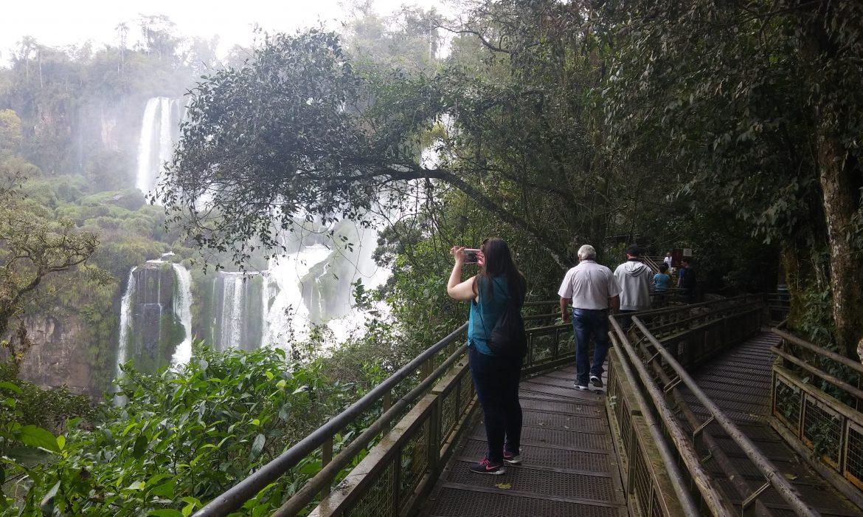 Cataratas fase 1: Caminatas recreativas para Iguazuenses