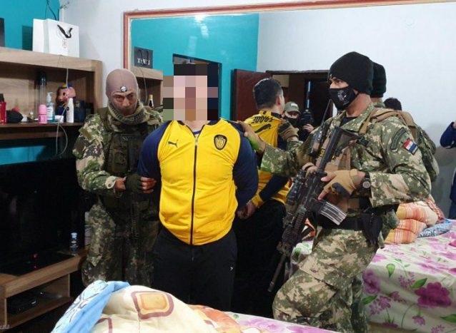 Detuvieron al mayor distribuidor de cocaína de Paraguay en Asunción