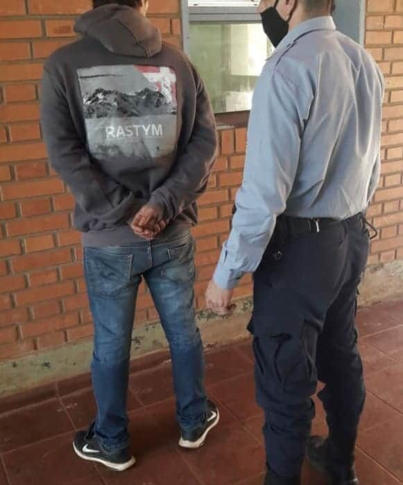 Violencia de género: fue detenido tras atacar con un cuchillo a su pareja
