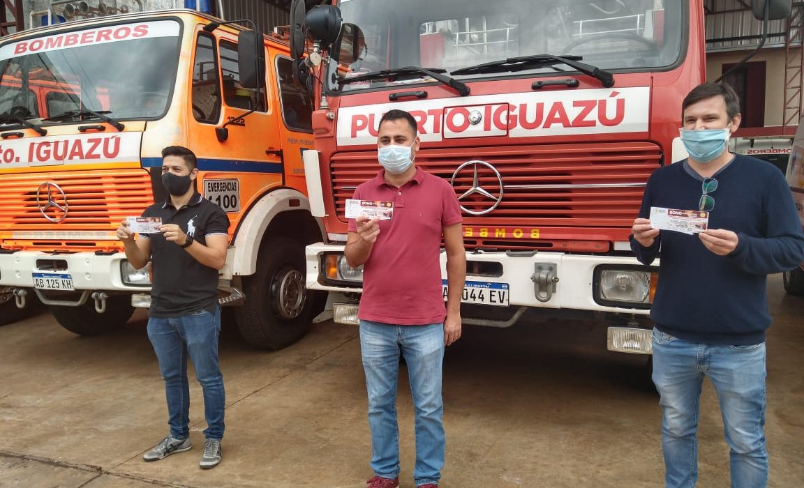 Lanzaron el bono contribución de Bomberos Voluntarios