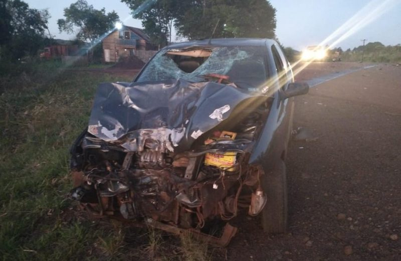 Falleció el conductor de una motocicleta en una colisión en Puerto Esperanza