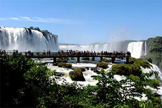 El 4 de agosto re abre las cataratas lado Brasileño.