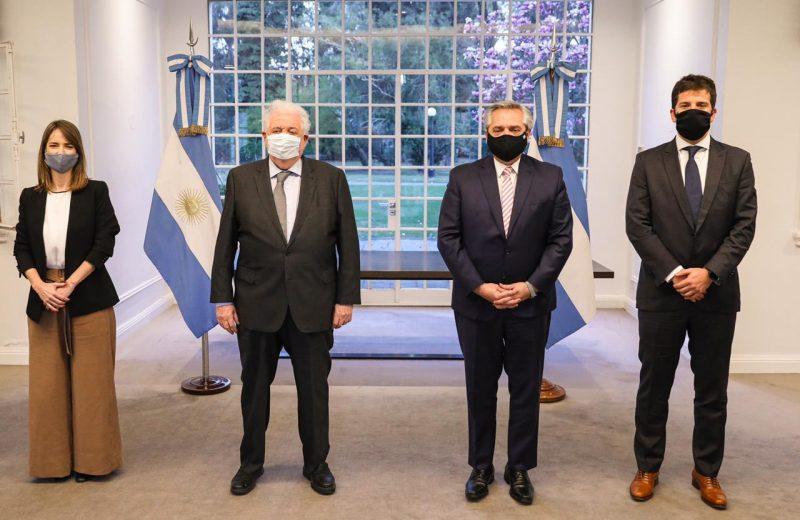 El presidente anunció que Argentina producirá la potencial vacuna COVID-19