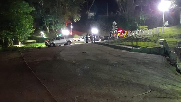 Prefectura y los bomberos de Foz do Iguazu rescataron un cuerpo del rio Iguazú