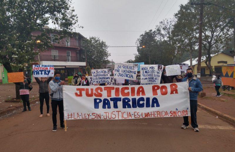 Familiares de patricia Mereles exigen la caratula de Femicidio