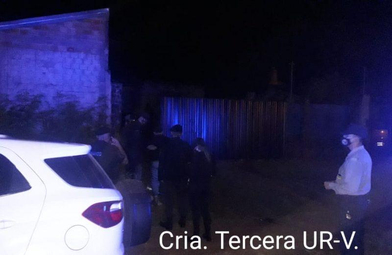 La policía terminó con una fiesta Clandestina en barrio primavera