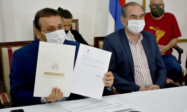 Firmaron un convenio para fortalecer la economía social