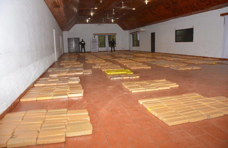La Gendarmería incautó más de dos toneladas y media de marihuana