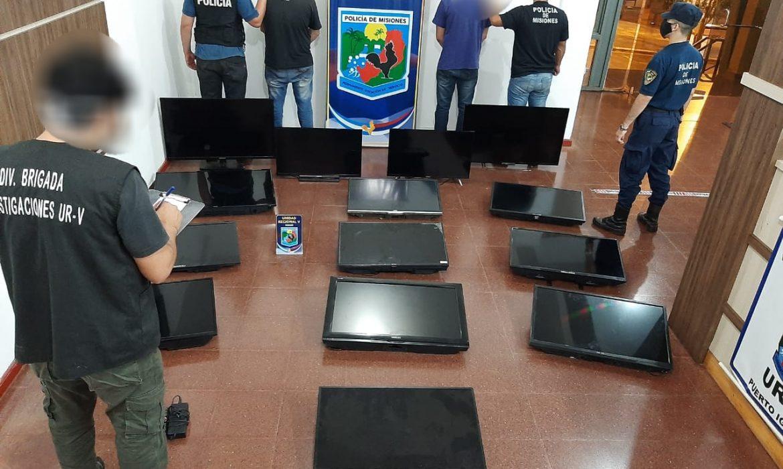 Iguazú: Capturaron a dos hombres que robaban televisores de hoteles