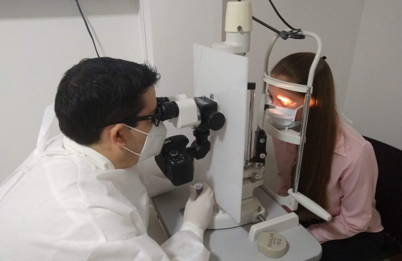 Aumentaron las consultas al oftalmólogo por el síndrome de la PC en aislamiento