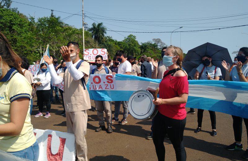 El sector turístico de Iguazú liberó la ruta y espera los anuncios del gobierno