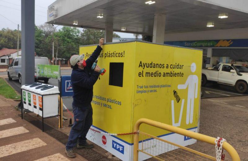 Inauguraron un nuevo eco punto en Iguazú
