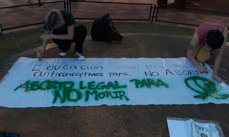Mujeres marcharon en el día de acción global por el acceso al aborto legal y seguro