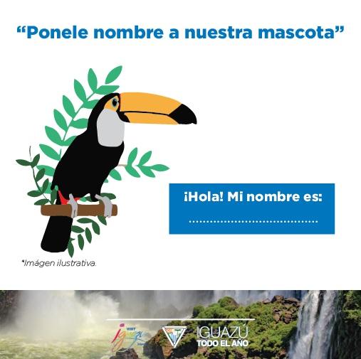 """Lanzaron el concurso: """"Ponele nombre a la mascota de Visit Iguazú""""."""