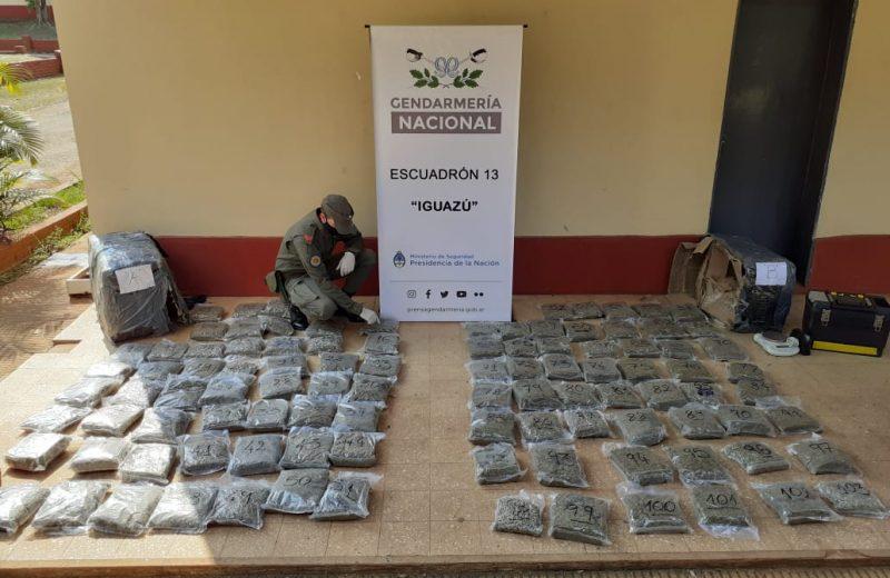 Fue detenido por intentar  enviar marihuana por encomienda