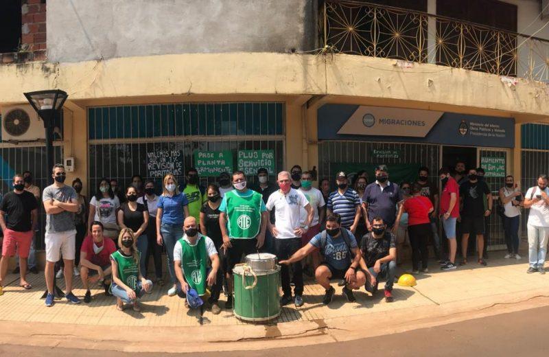 Migraciones Iguazú se manifestó en el marco de la Jornada de lucha nacional