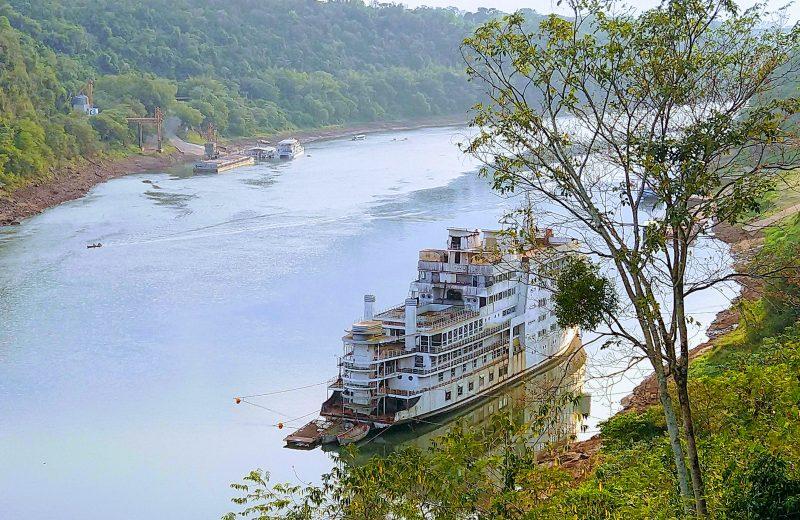 Pese a la bajante del río Iguazú, no se registran problemas para generar agua potable