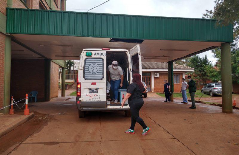 Dieron de alta al médico de Iguazú que estuvo internado en terapia intensiva