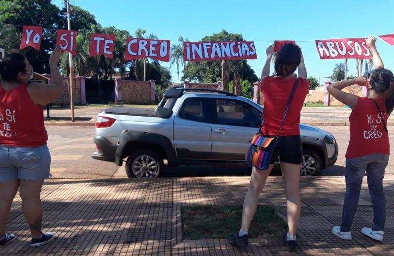 Bajo el lema #YoSiTeCreo las mujeres auto convocadas se movilizaron