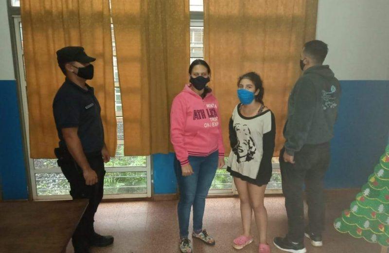 La policía encontró a Ángela y está con su familia
