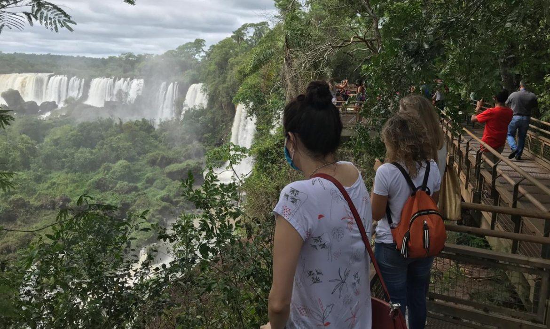 Cataratas recibió 1.182 turistas durante el fin de semana largo