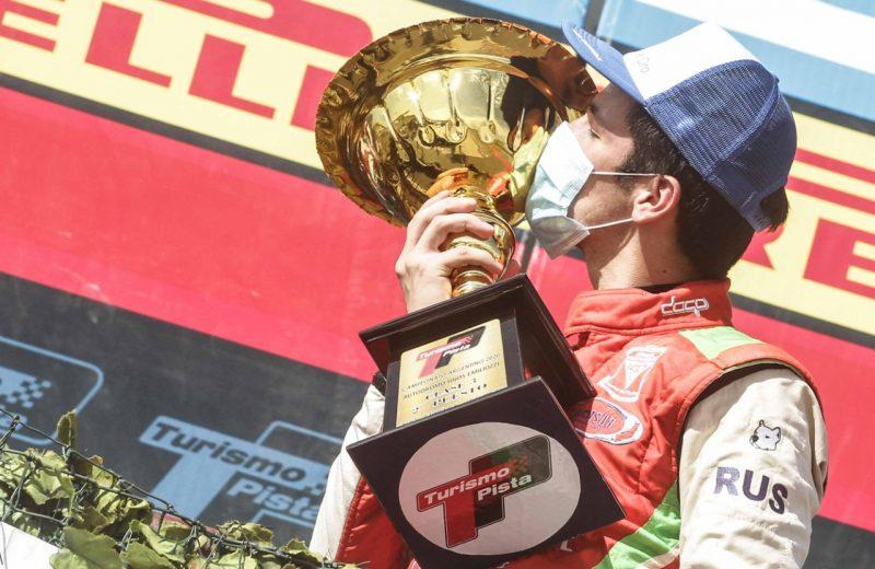 Bundziak logró su primer podio en el Turismo Pista