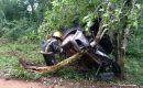 Fallecieron dos personas tras el despiste de un automóvil en las 600 Hectáreas