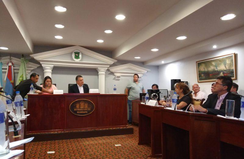Este lunes los concejales vuelven a trabajar en Iguazú
