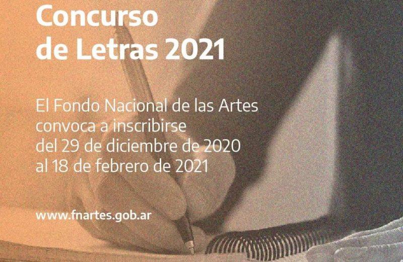 Están abiertas las inscripciones para Concurso de letras 2021