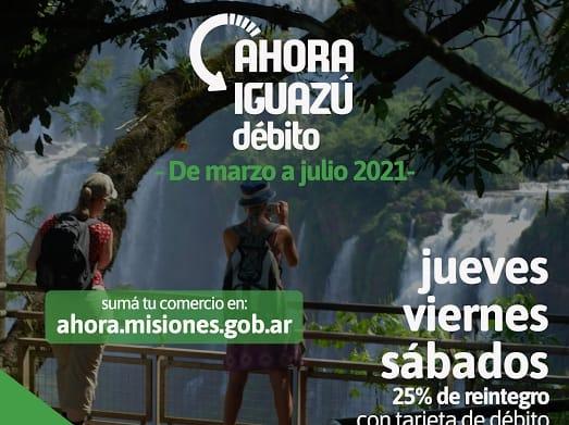 """Entra en vigencia el """"Ahora Iguazú"""" con al menos 200 comercios adheridos"""