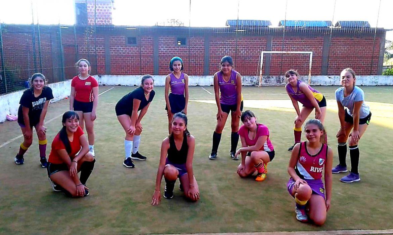 Hockey en pandemia: las chicas también quieren divertirse