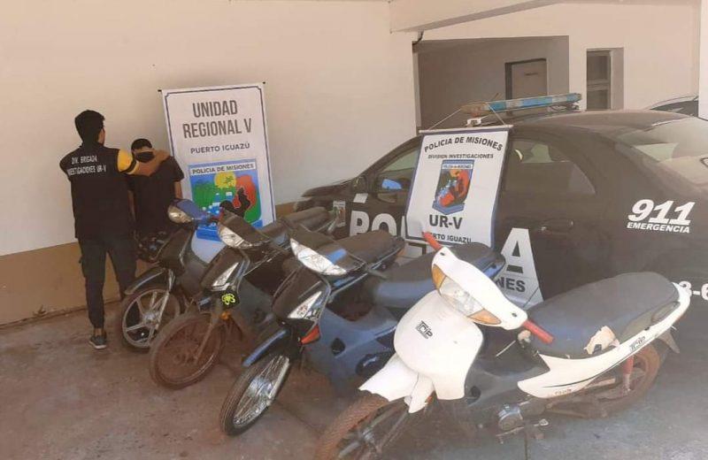 """Después del robo de 4 motocicletas detuvieron a """"Moncho"""""""
