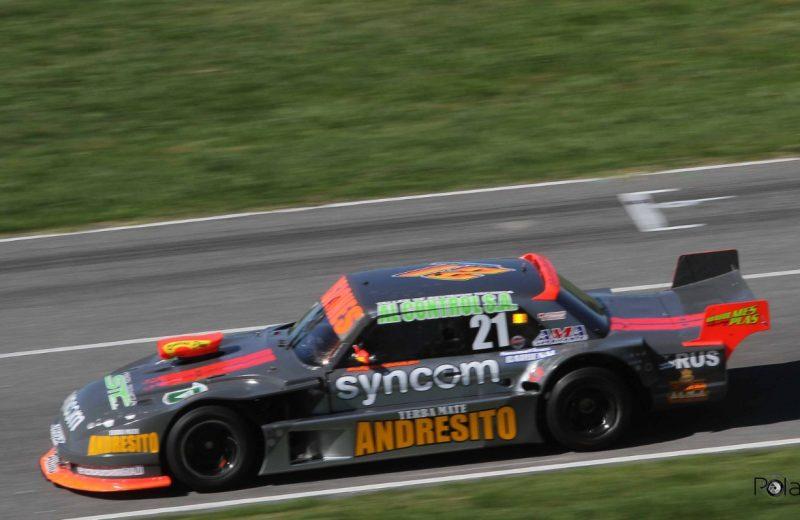 Bundziak se ubicó en la 11° posición en los entrenamientos del TC Mouras