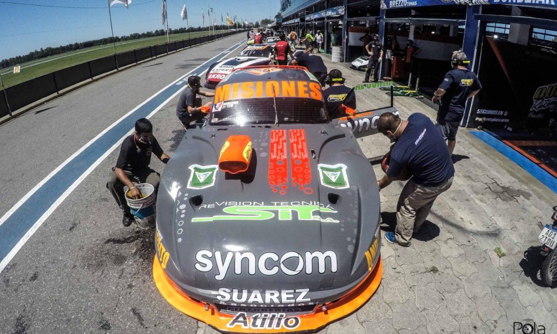 Bundziak esta quinto en el campeonato TC Mouras